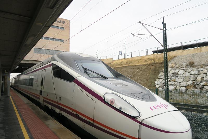 Hurtigtoget til Segovia, Spanien