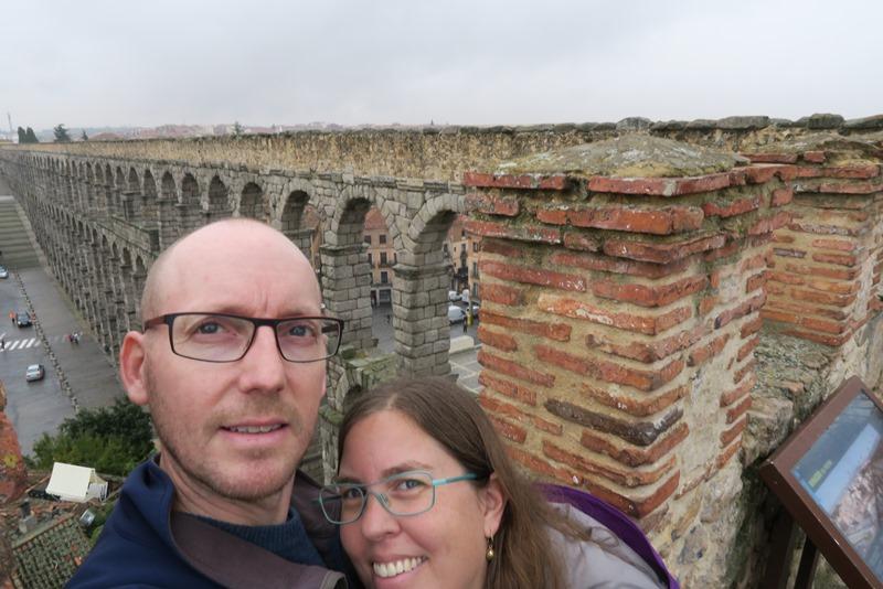 Two Danes On Tour i Segovia