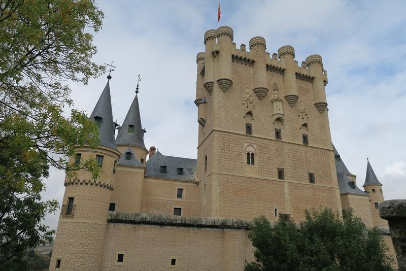 Alcázar i Segovia, Spanien