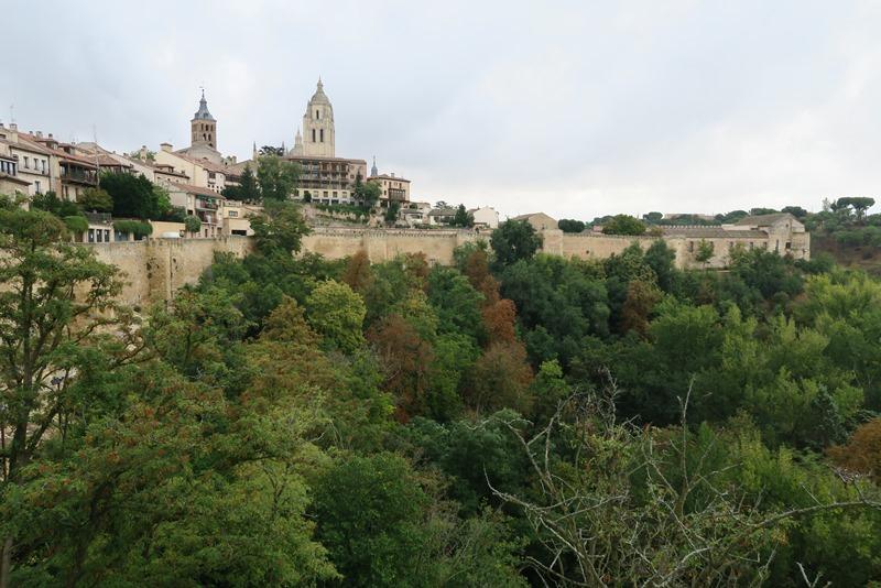 Smukke Segovia, Spanien