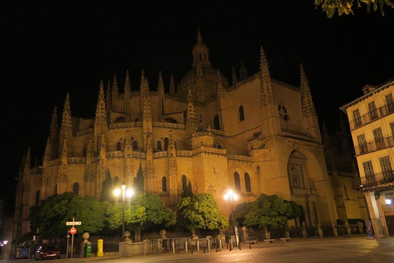 Segovia by night