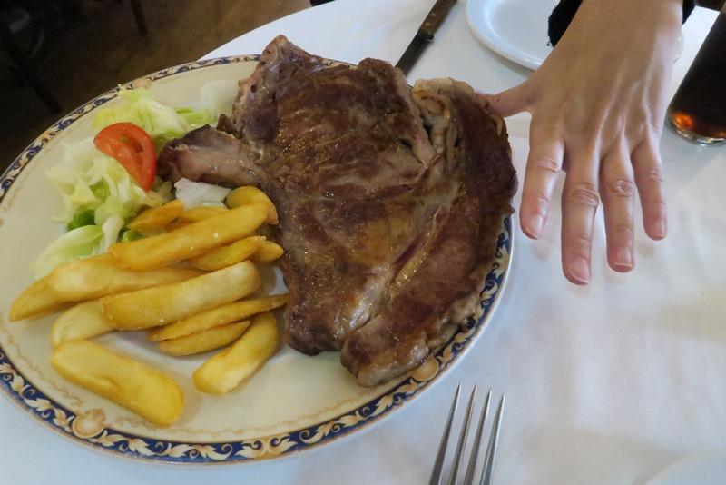 Så er der én bøf! Ávila, Spanien
