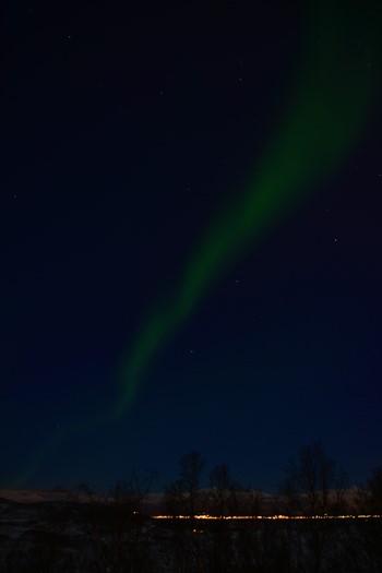 Nordlys nær Tromsø