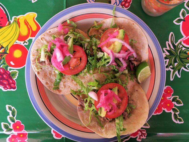 Tacos på Isla Mujeres, Mexico