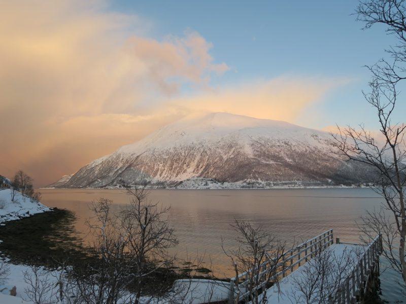 Lyset på bjerget, Tromsø, Norge