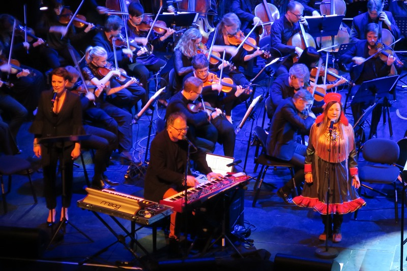Samisk koncert i Tromsø til Nordlysfestival