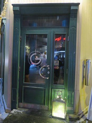 Det hyggelige værtshus G i Tromsø, Norge
