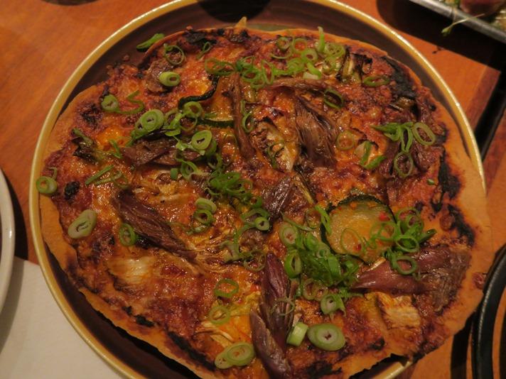Spicy pizza på Hildr, Tromsø, Norge