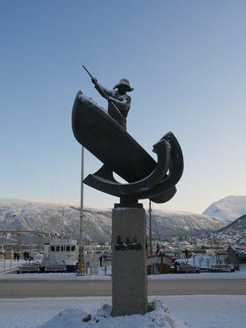 Downtown Tromsø, Norge