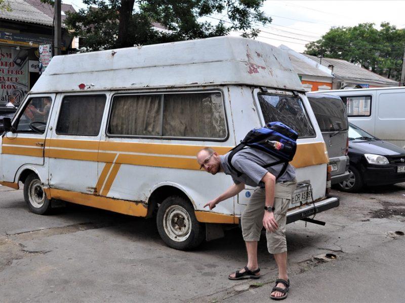 Bilerne i Moldova er ikke alle i topform