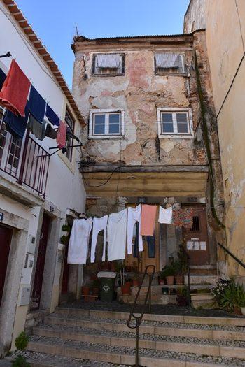 Det ældste beboede hus i Lissabon, Portugal