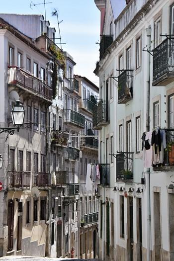 Gadebillede, Lissabon, Portugal