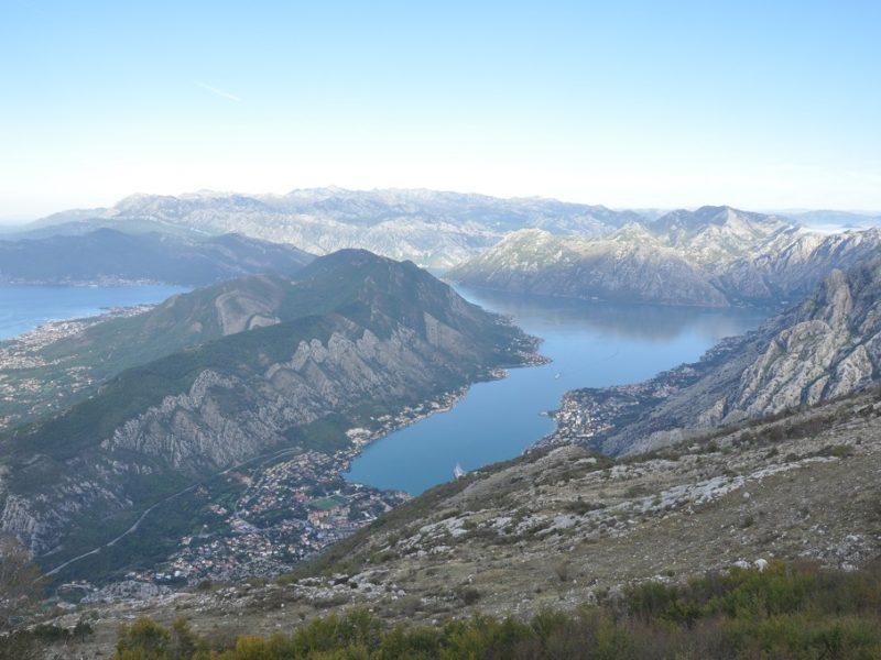 Den smukke bugt ved Kotor i Montenegro