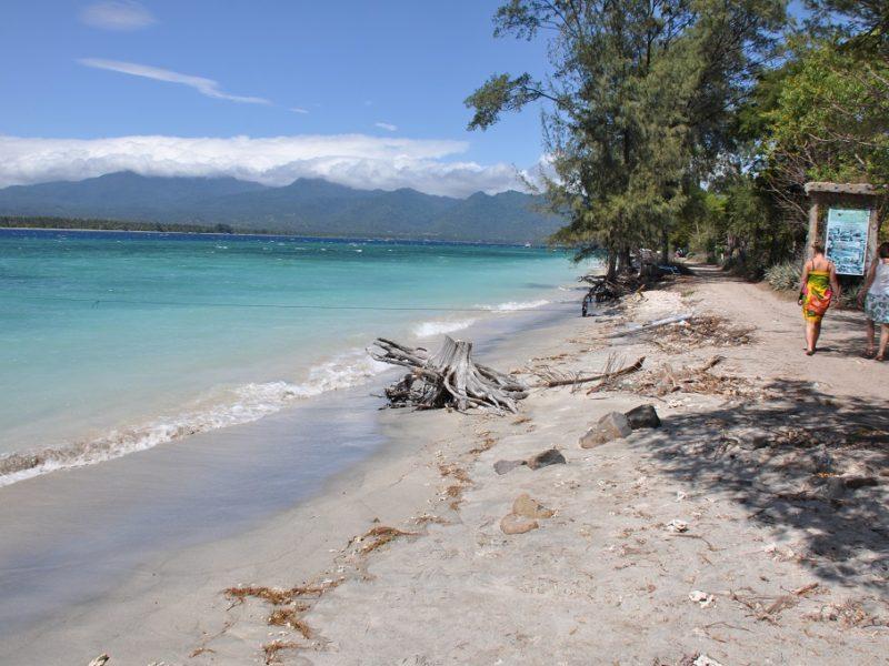 Smukke Gili Air i Indonesien