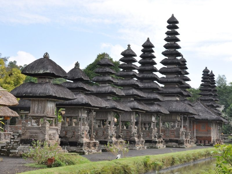 Smukt tempel på Bali, Indonesien