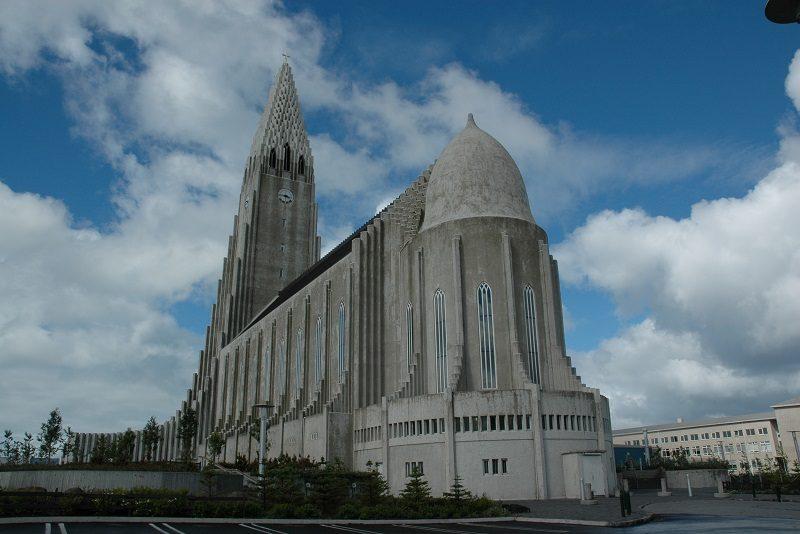 Hallgrimskirkjan, Reykjavik, Island