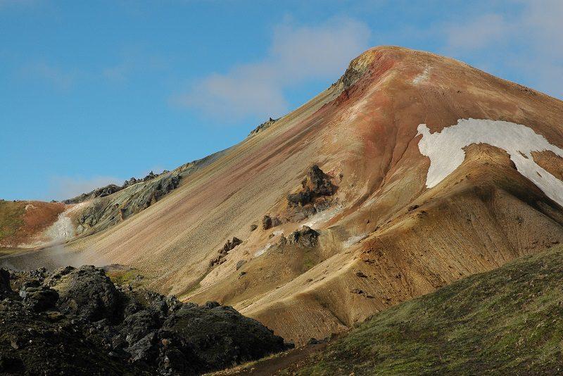 Trekket Landmannalauger, Island