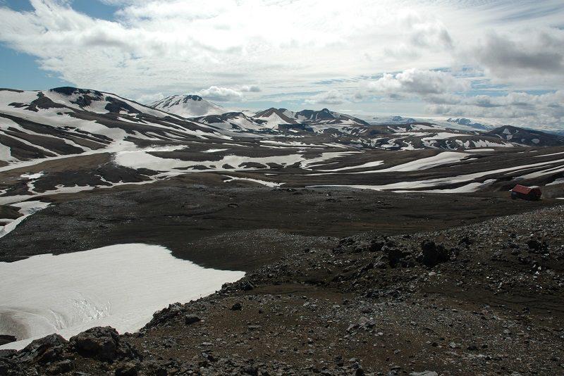 Vandretur om sommeren i Island