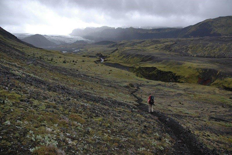 Fantastisk trek i Island