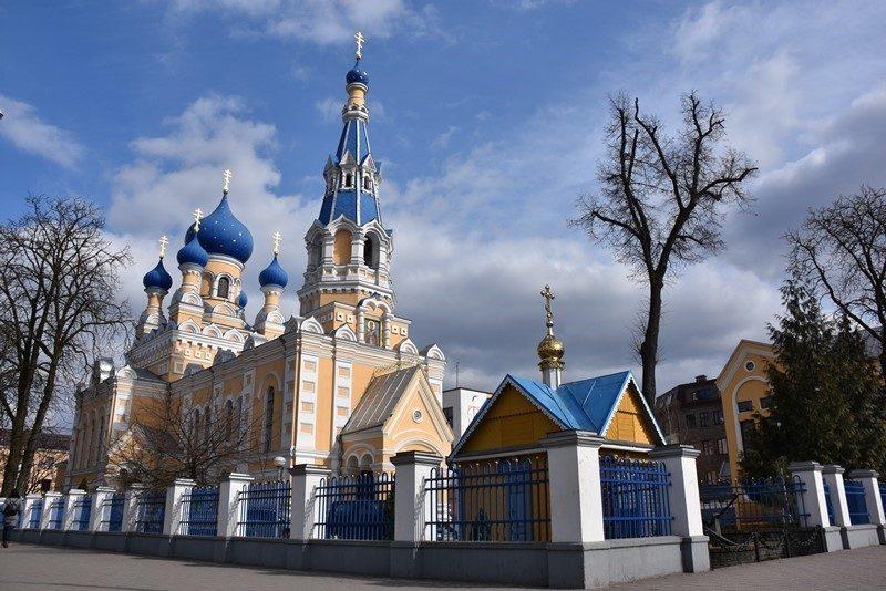 Smuk kirke i Brest, Hviderusland