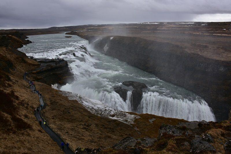 Gullfoss, Den gyldne cirkel, Island