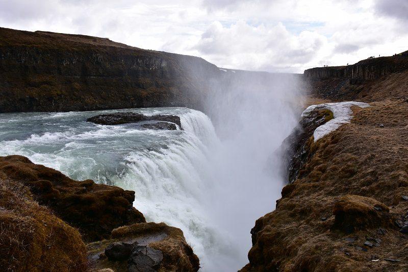 Vandfaldet Gullfoss, Island