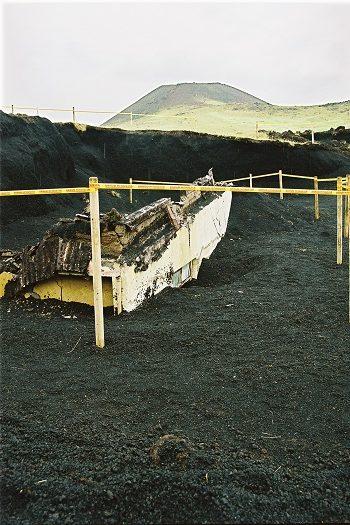 Brændte huse på Vestmannaøerne, Island