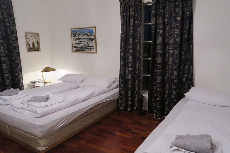 Vores værelse i Hafnafjördur