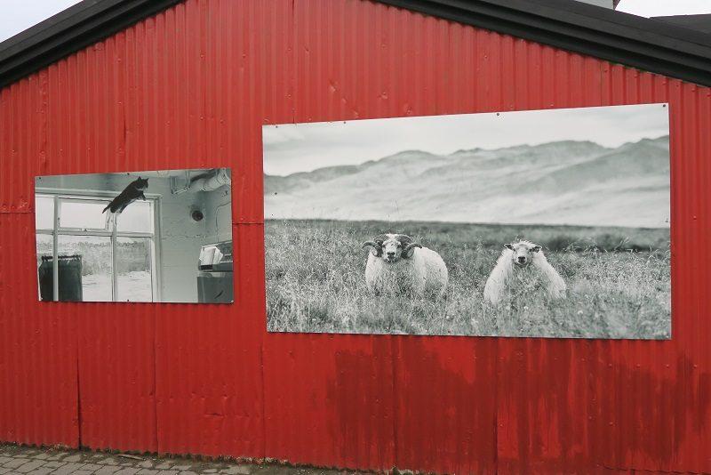 Huse i metal, Reykjavik, Island