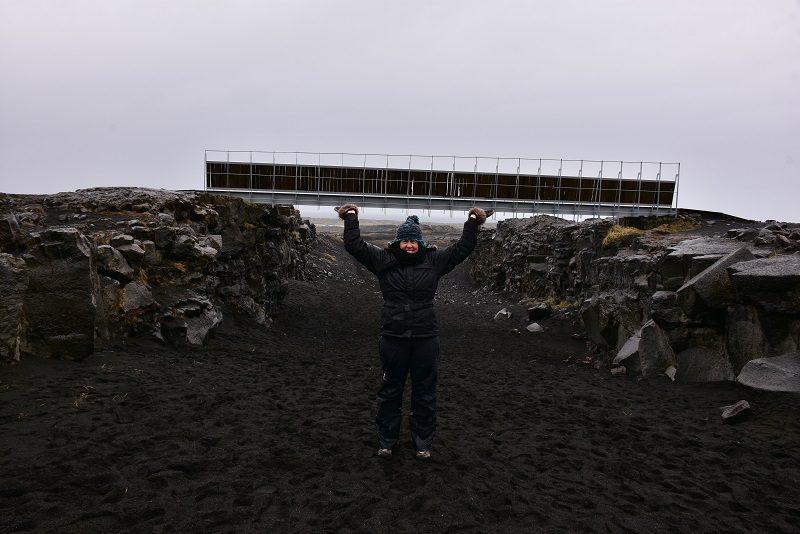 Sjov ved Broen mellem to kontinenter, Island