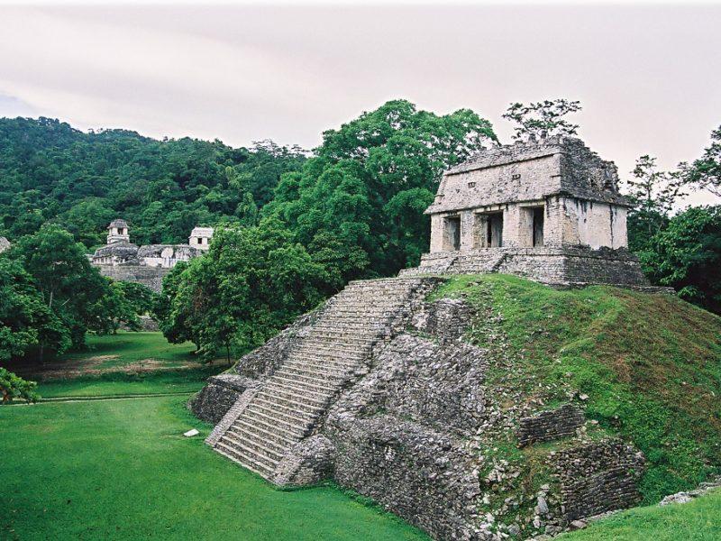 De fantastiske pyramider ved Palenque i Mexico