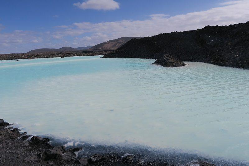 Området omkring Den blå lagune