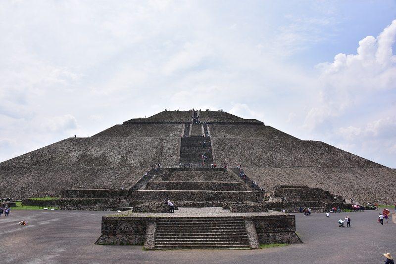 Pyramiden Solen, Teotihuacan, Mexico