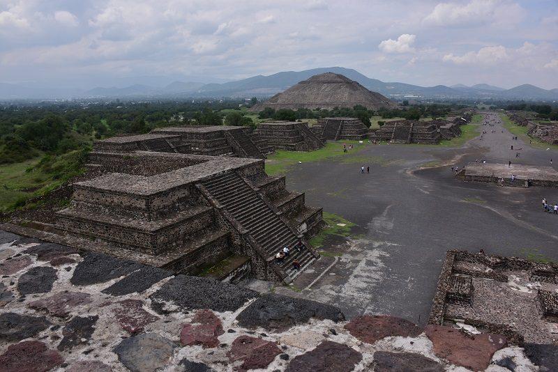 Vi står på månen, Teotihuacan, Mexico