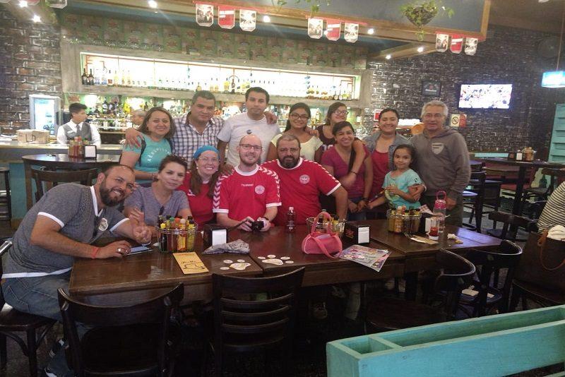 Hele holdet til fodbold, Mexico City
