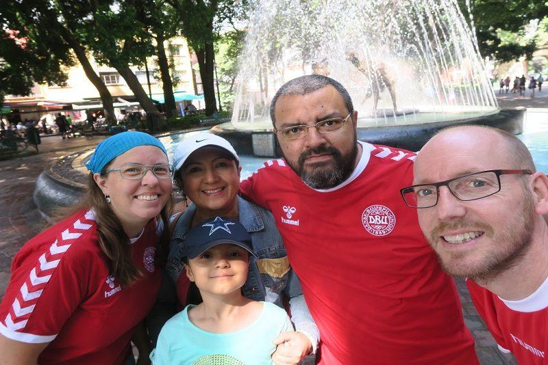Vores dejlige familie i Mexico City