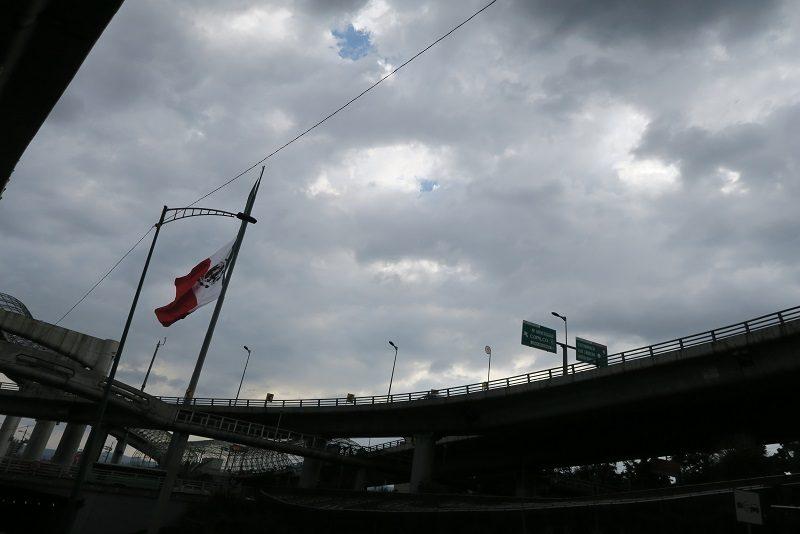 Veje i flere etager, Mexico City