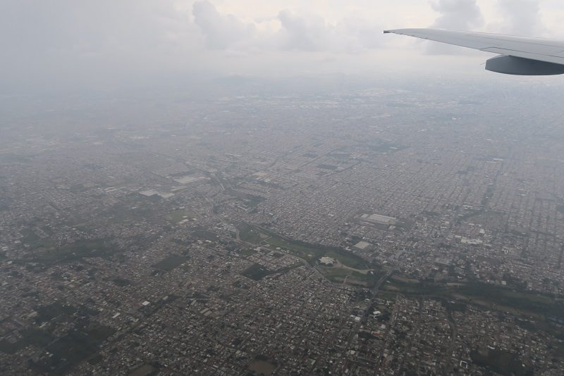 Indflyvningen over Guadalajara, Mexico