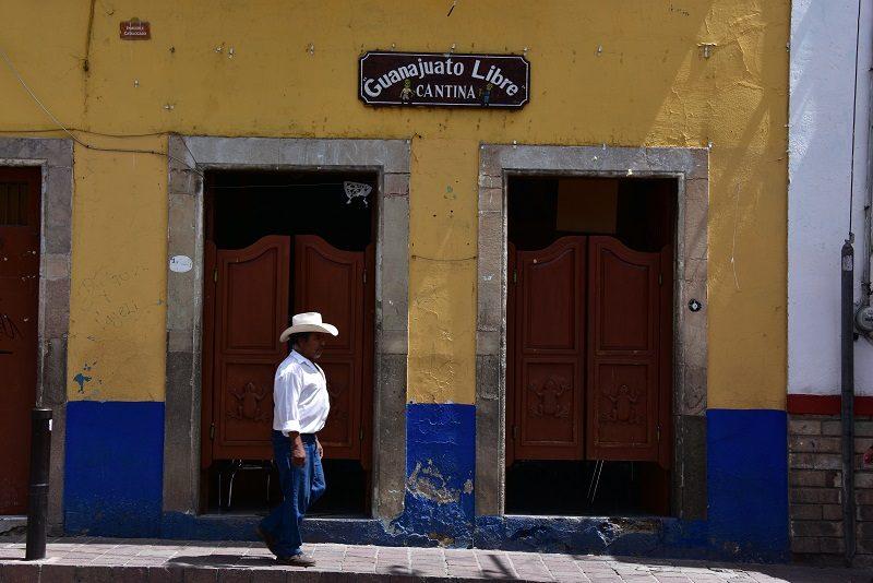 Saloondøre i Guanajuato, Mexico