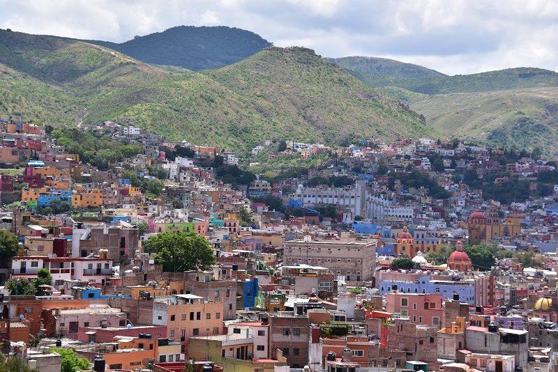 Udsigt over Guanajuato, Mexico