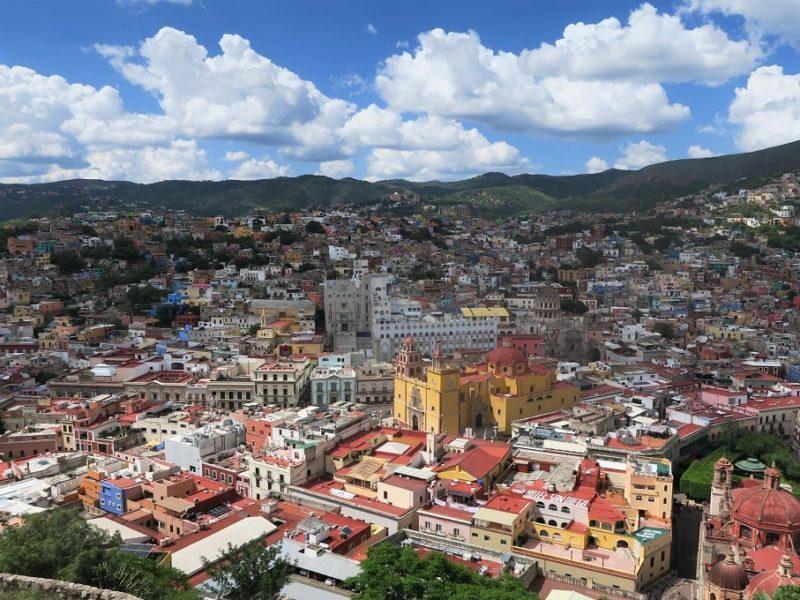 Fantastisk udsigt over Guanajuato
