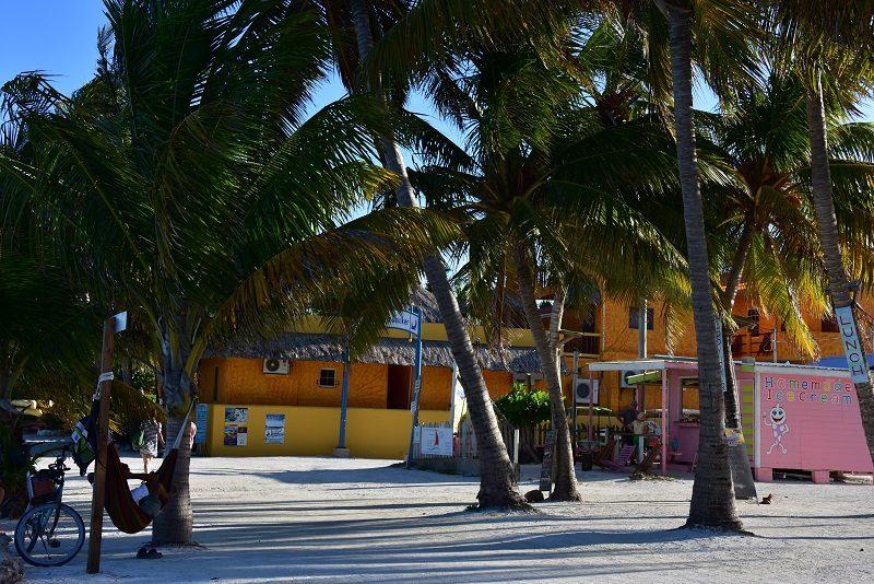 Dejlig stemning på Caye Caulker, Belize