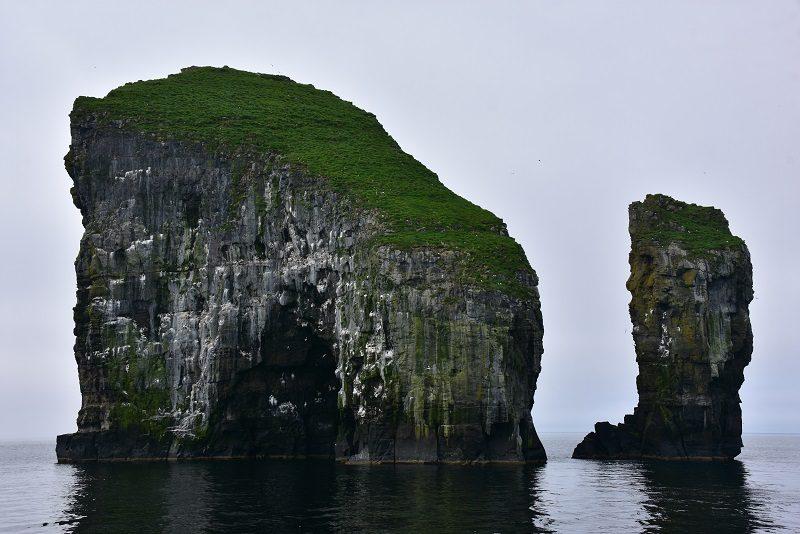 På vej til Mykines, Færøerne
