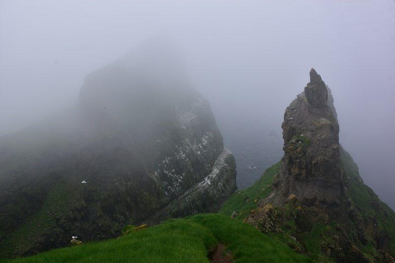 Tåge over Mykines, Færøerne