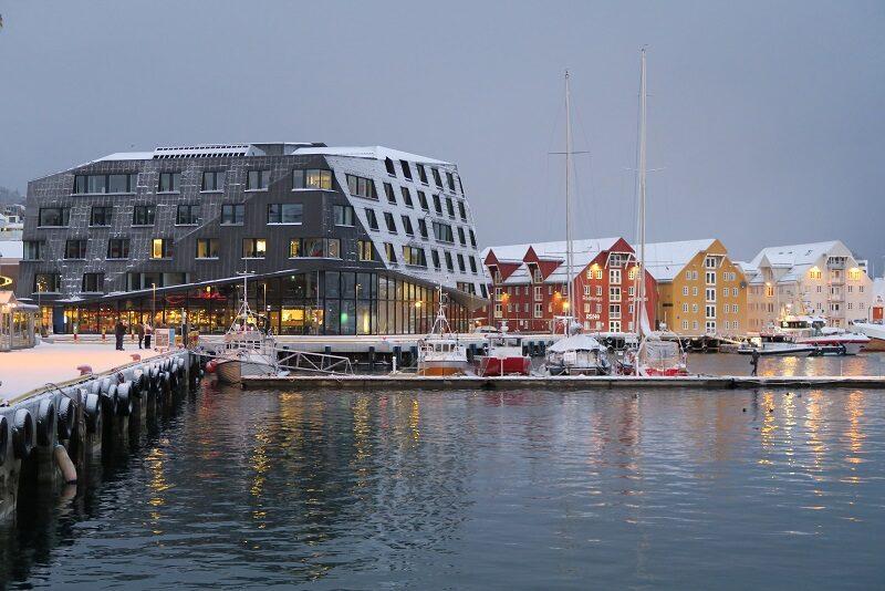 Havnefronten, Tromsø, Norge