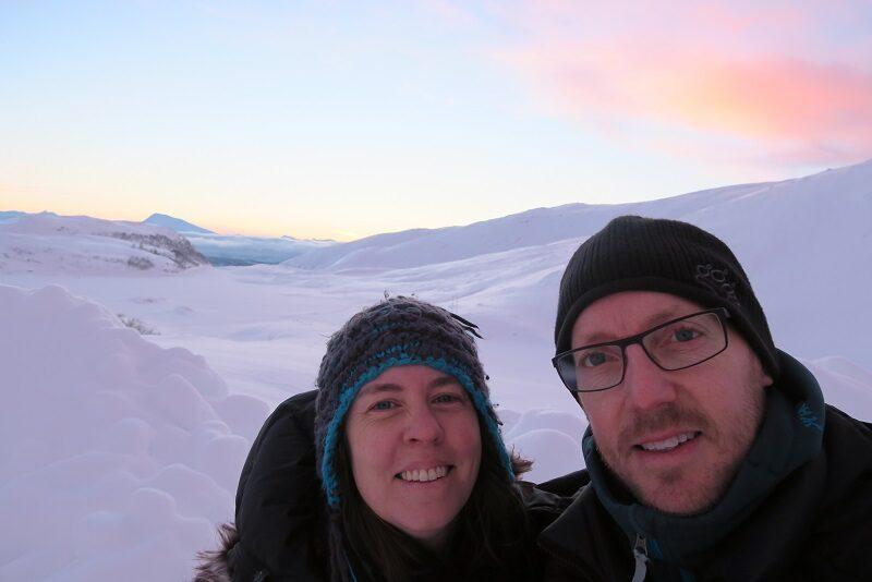 Two Danes On Tour i Tromsø om vinteren.