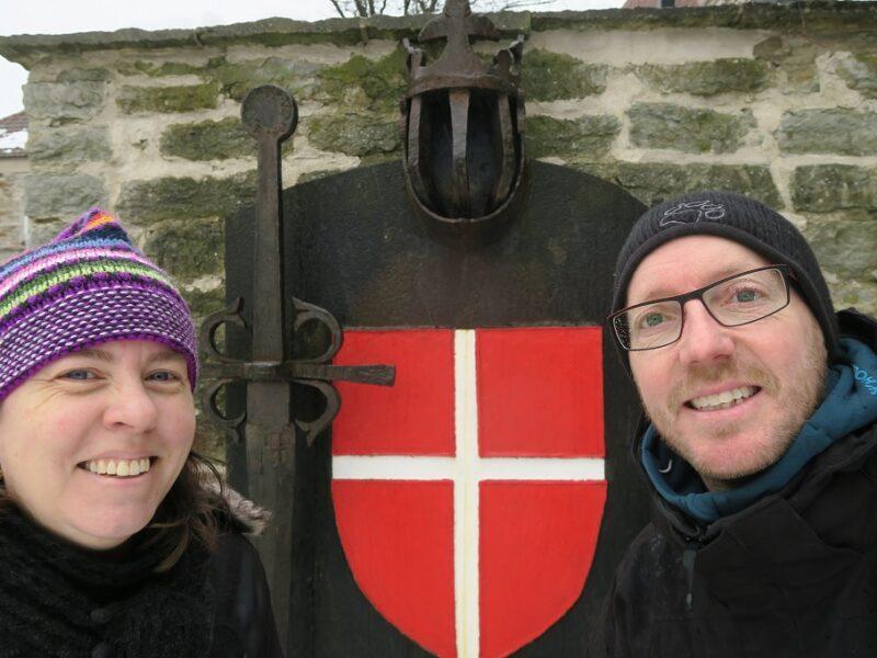 Two Danes On Tour i Den danske konges have i Tallinn