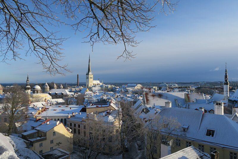 Udsigt over Tallinn