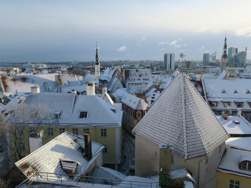 Tallinn Old Town er nærmest magisk