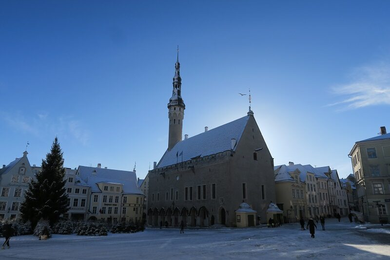 Det gamle rådhus i Tallinn